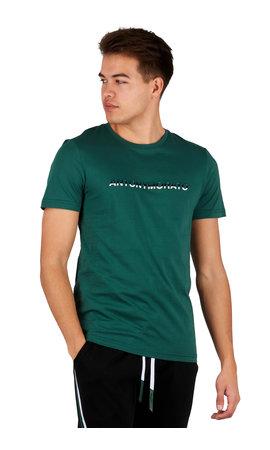 Antony Morato Antony Morato T-shirt Green MMKS01754-FA100144