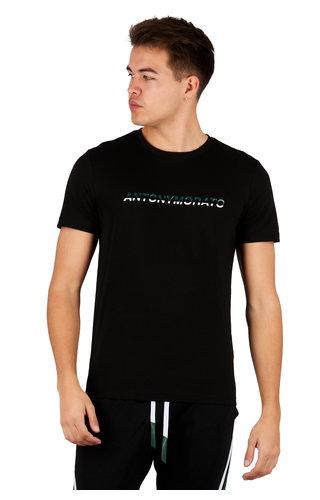 Antony Morato Antony Morato T-shirt Zwart MMKS01754-FA100144