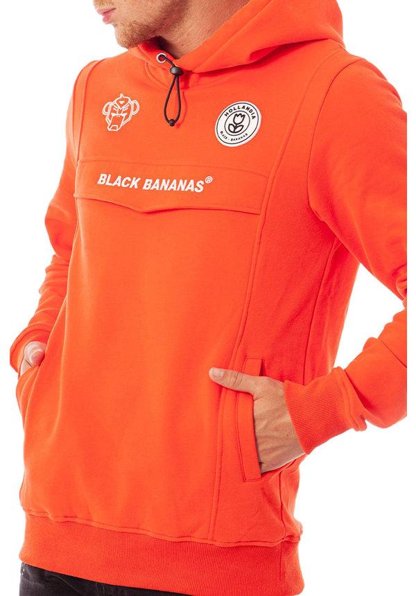 Black Bananas SS20 Anorak Neon Hoody Orange