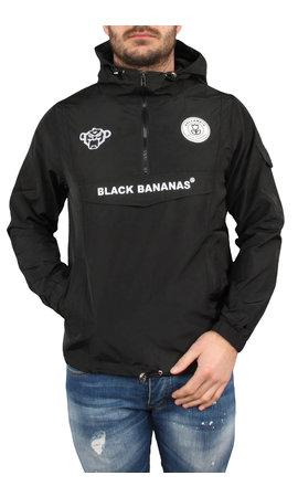 Black Bananas Black Bananas SS20 The Anorak Windbreaker Black/White