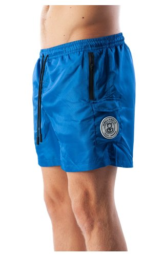Black Bananas Black Bananas SS20 Palm Pocket Swimshort Cobalt Blue