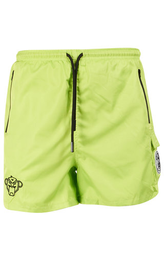Black Bananas Black Bananas SS20 Palm Pocket Swimshort Neon Yellow