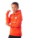 Black Bananas Kids Neon Anorak Hoody Neon Orange