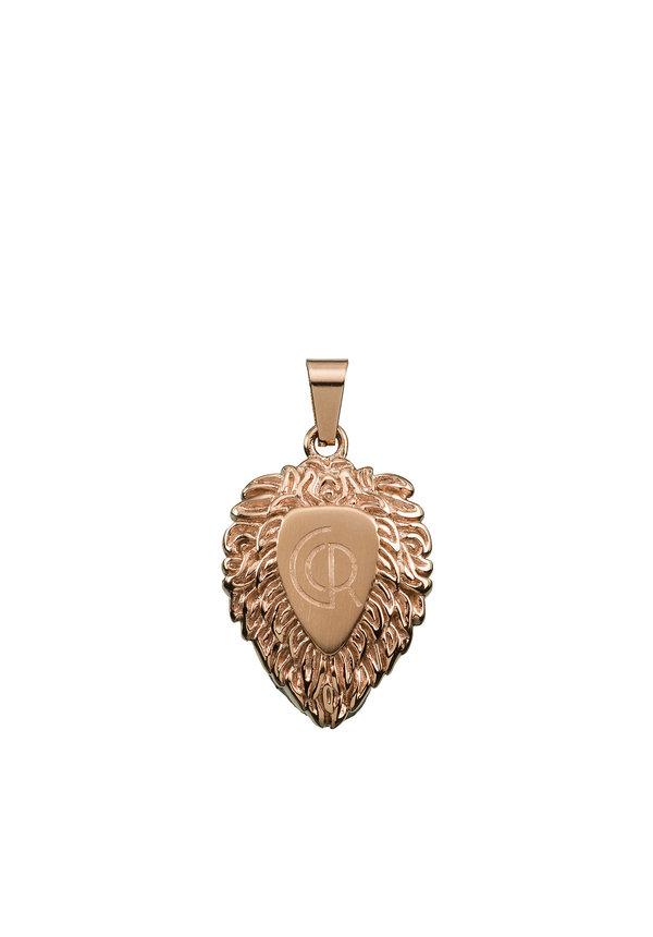 Croyez Lion W/ round Boxchain 18k rosegold