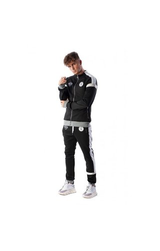 Black Bananas Black Bananas Captain Tracksuit Black/White