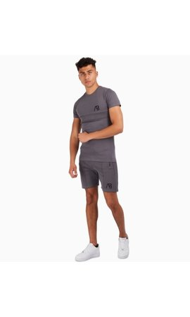 AB-Lifestyle AB Lifestyle embroidery Tee Grey