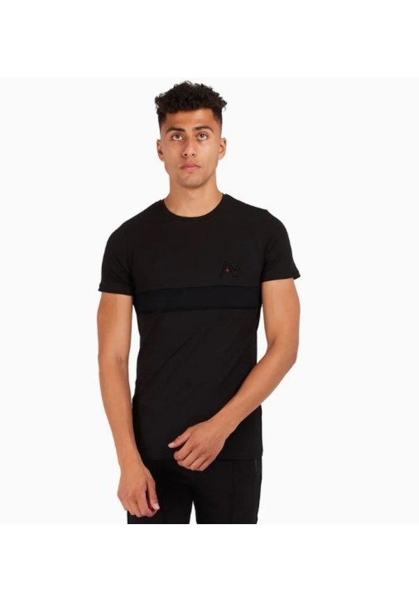 AB Lifestyle embroidery Tee Black