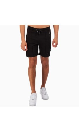 AB-Lifestyle AB Lifestyle embroidery Short Black