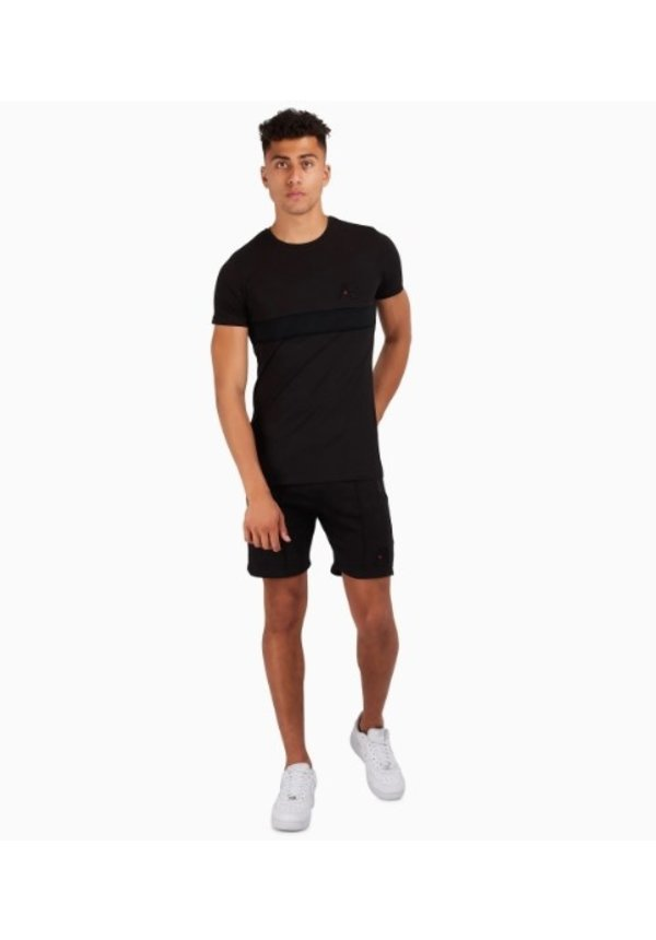 AB Lifestyle embroidery Short Black