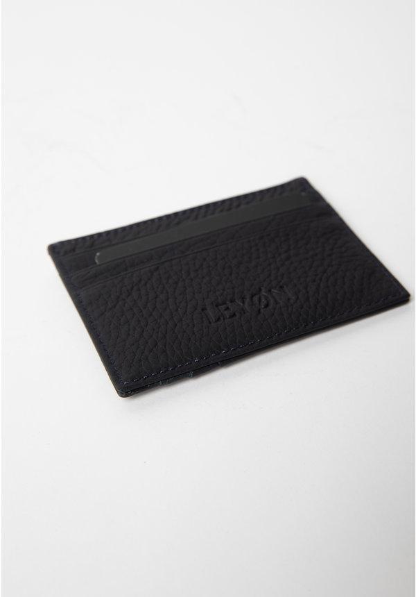 Leyon Card Visit Wallet Blue