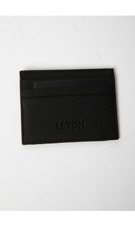 LEYON Leyon Card Visit Wallet Black