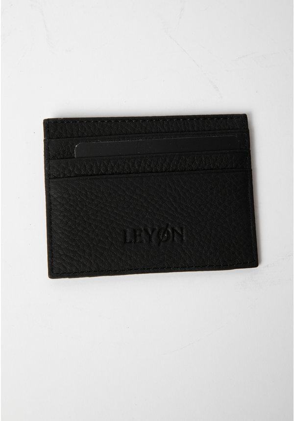 Leyon Card Visit Wallet Black