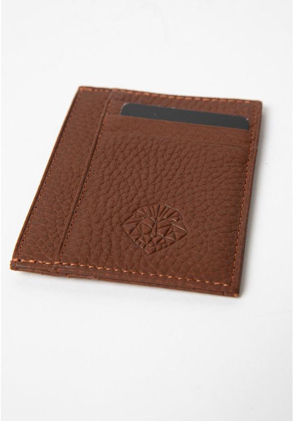 Leyon Card Visit Wallet Brown