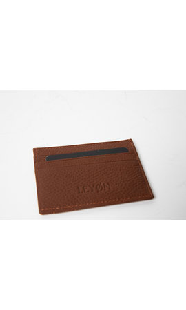 LEYON Leyon Card Visit Wallet Brown