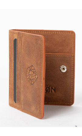 LEYON Leyon Book Wallet Brown