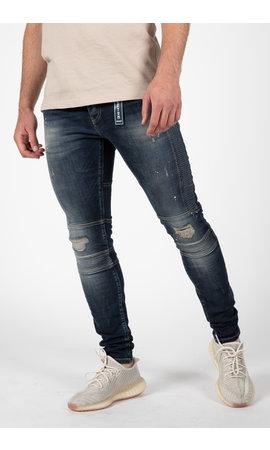 LEYON LEYON Blue Jeans Spotted 2043-1