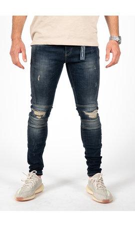 LEYON LEYON Ribbed Blue Jeans 2043