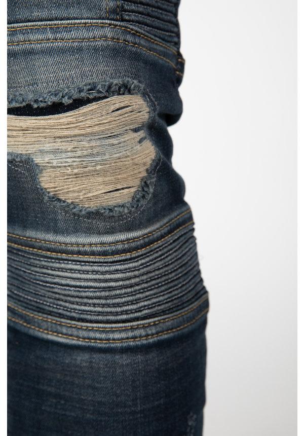 LEYON Ribbed Blue Jeans 2043