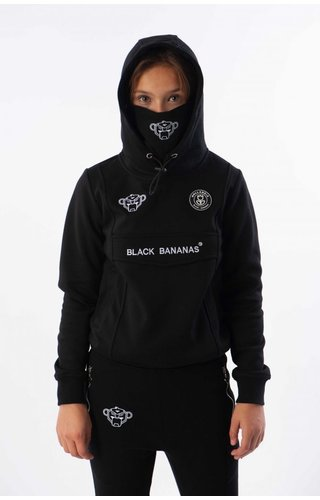 Black Bananas Black Bananas JR Mask Hoody Black