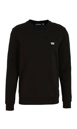 Antony Morato Antony Morato Sweater Logo MMF00691 Black