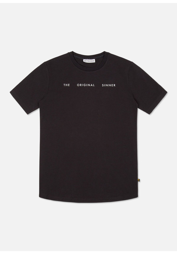Off The Pitch 1940203090 The Sinner Tee Black