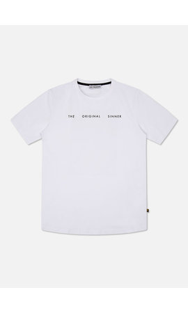 Off The Pitch Off The Pitch  1940203010 The Sinner Tee White