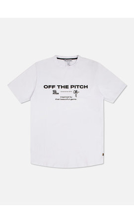 Off The Pitch 1810203010 The Sage Tee White