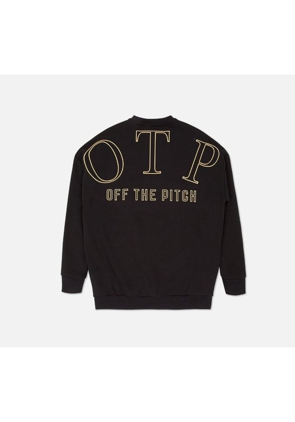 Off The Pitch The Lover Sweater Black