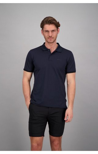 Airforce Airforce ss20 HRM0655 Polo Double Stripe Dark Navy