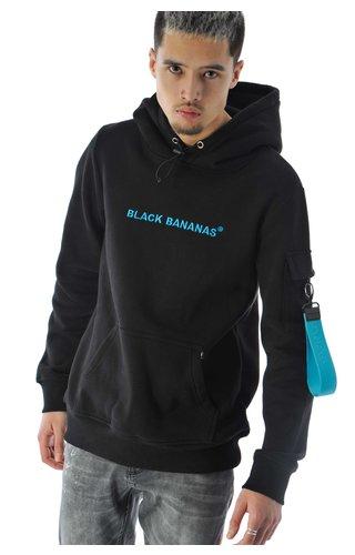Black Bananas Black Bananas Tag Hoody Blue