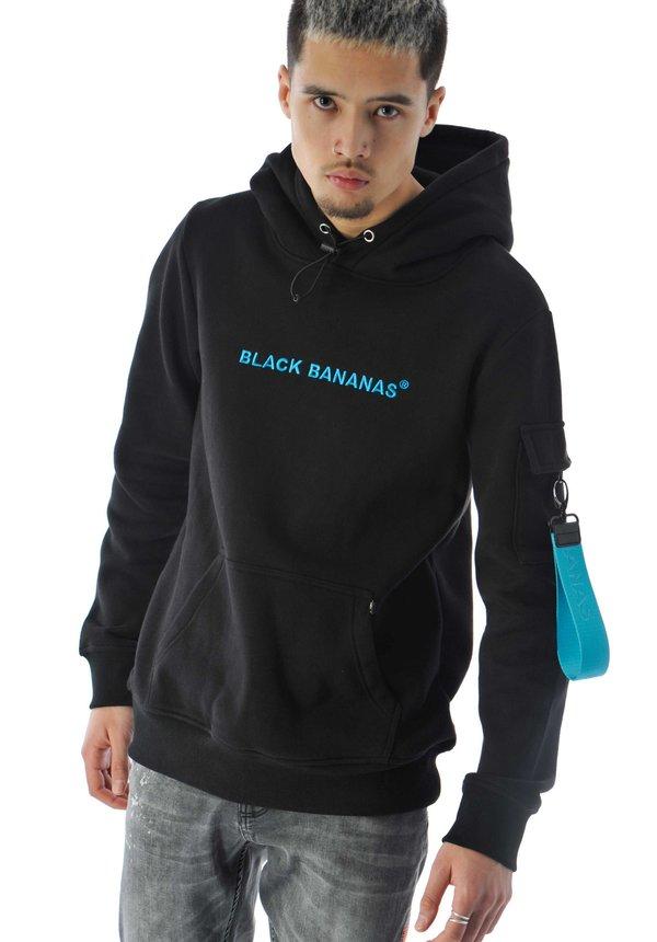Black Bananas Tag Hoody Blue