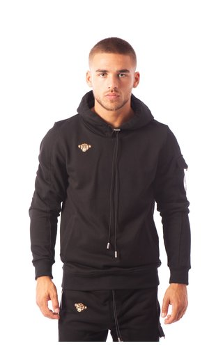 Black Bananas Black Bananas Statement Hoody Black