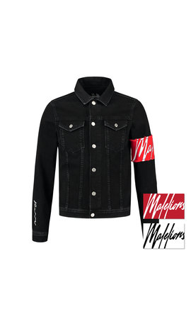 Malelions Malelions MM-AW0-1-4 Captain Denim Jacket Black