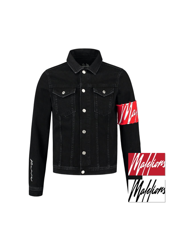Malelions MM-AW0-1-4 Captain Denim Jacket Black