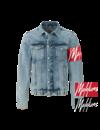 Malelions MM-AW0-1-4 Captain Denim Jacket Light Blue