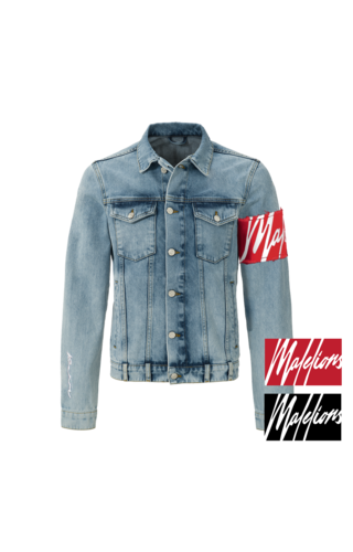 Malelions Malelions MM-AW0-1-4 Captain Denim Jacket Light Blue