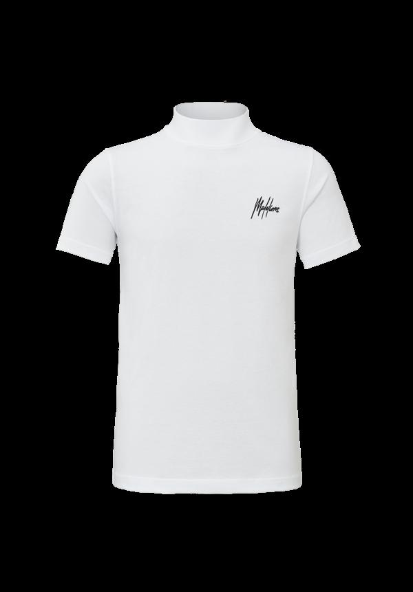 Malelions MM-HS20-1-10 Turtle Neck Signature White