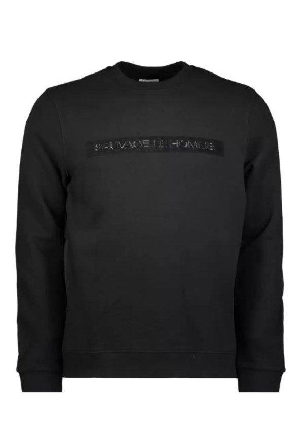 Sauvage Mitch Sweater SMFW-0127 Black
