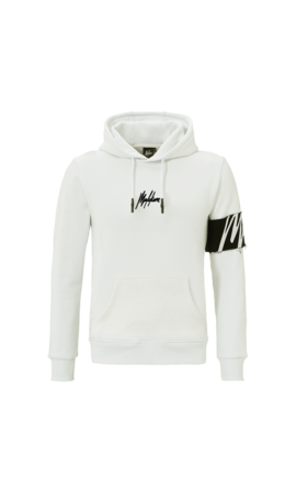 Malelions Malelions Captain Hoodie White / Offwhite