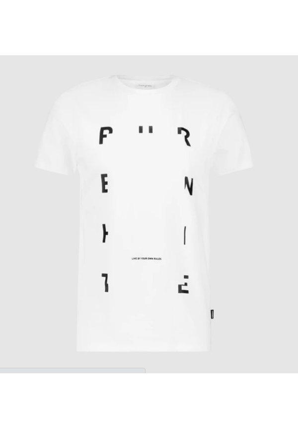 PUREWHITE FW20 OFF WHITE TEE