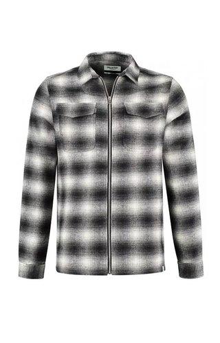 Circle of trust Circle Of Trust Johan Zip Shirt Real Black