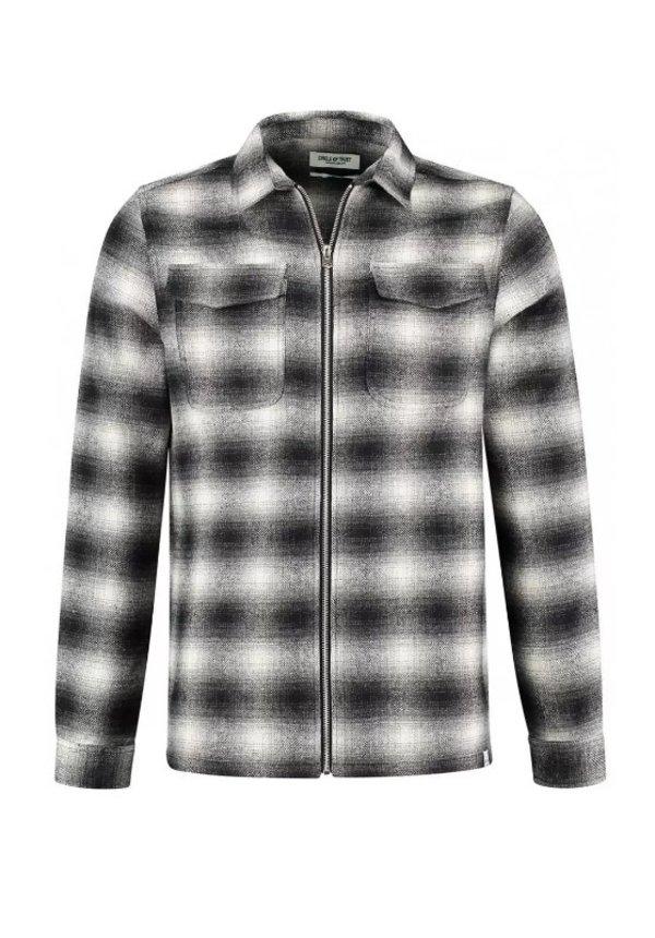 Circle Of Trust Johan Zip Shirt Real Black