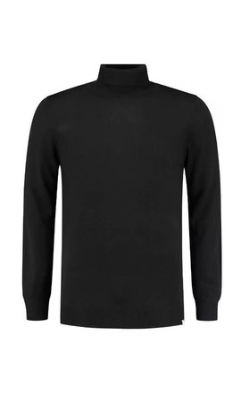 Circle of trust Circle Of Trust Stewart Turtleneck  Black