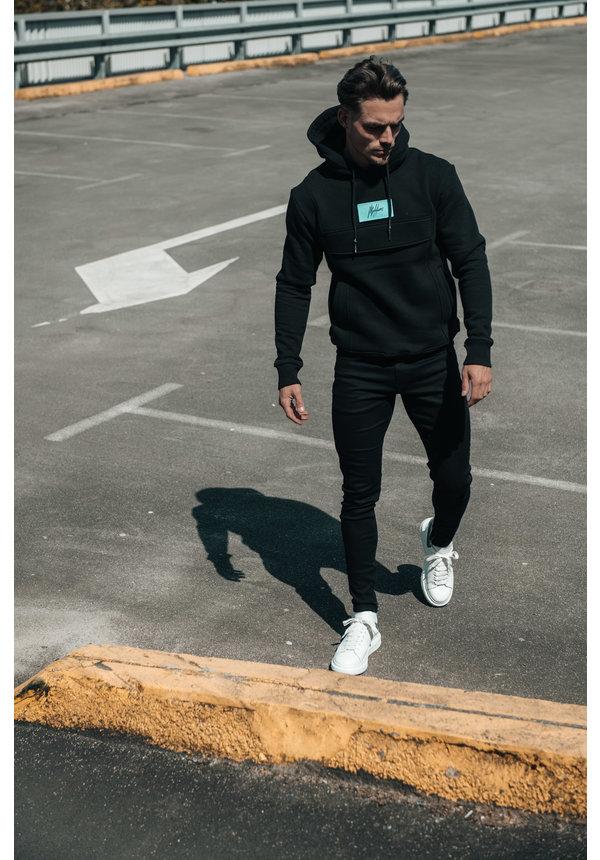 Malelions Velcro Anorak Black