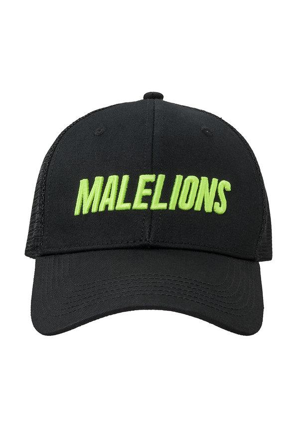 Malelions Cap Cursief Neon Yellow