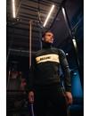 Malelions Sport tracksuit Uraenium Black/Neon yellow