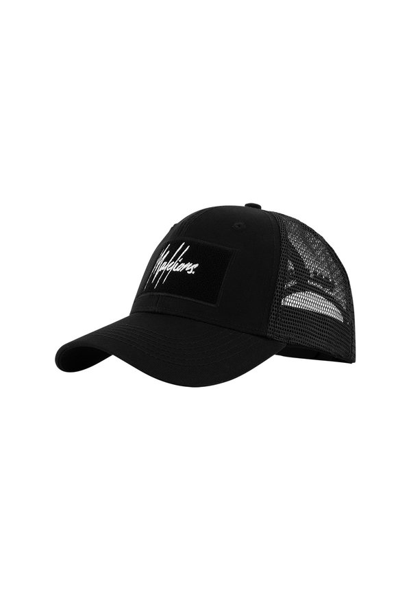 Malelions Velcro Patch Cap Black