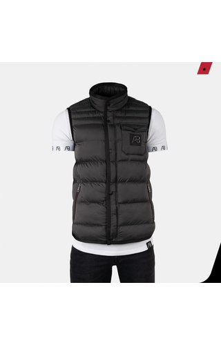 AB-Lifestyle AB Lifestyle Exclusive Bodywarmer Donker Grijs