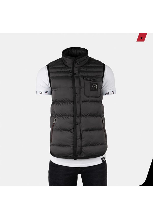 AB Lifestyle Exclusive Bodywarmer Donker Grijs