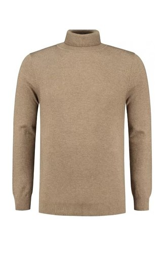 Circle of trust Circle Of Trust Steward Turtleneck Chocolate Brown